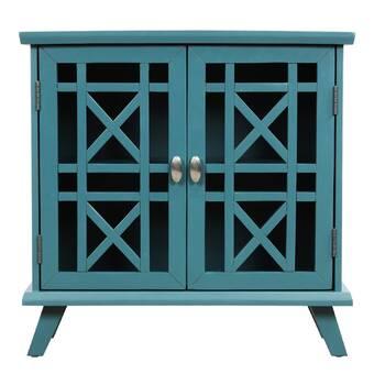 Red Barrel Studio Pinion 2 Door Accent Cabinet Wayfair