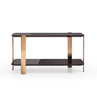 Everly Quinn Trimble Modern Console Table