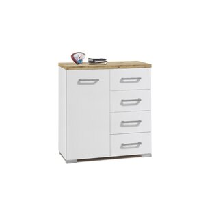 Clemens 4 Drawer Combi Chest By August Grove