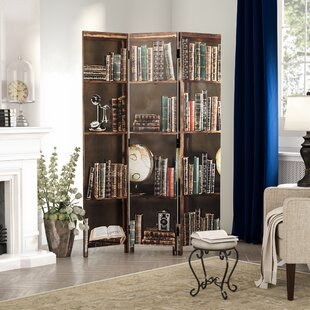 Sneed Books 3 Panel Room Divider. By Charlton Home