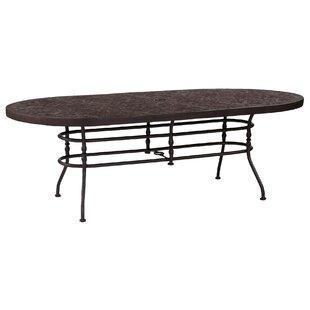 Veranda Aluminum Dining Table by Leona