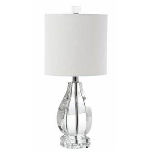 Eva Crystal 18.25'' Table Lamp