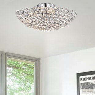Muthanna 4-Light Semi Flush Mount by Orren Ellis