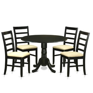 Dublin 5 Piece Dining Set by Wooden Importers Wonderful