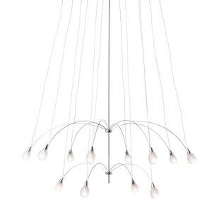 LBL Lighting Teardrop Twi Light Sputnik Chandelier