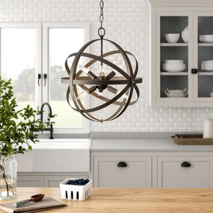Bouvet Industrial 6-Light Chandelier by Laurel Foundry Modern Farmhouse