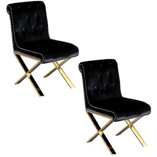 Everly Quinn Anglin Side Chair (Set of 2)