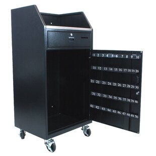 Portable Valet Full Podium by AmpliVox Sound Systems