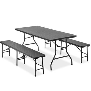 Kate 4 Seater Picnic Table By Marlow Home Co.