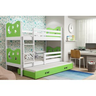 Wirila Bunk Bed With Drawer And Trundle By Zoomie Kids