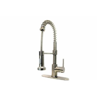 KEE Pull Down Single Handle Kitchen Faucet