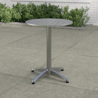 Lula Aluminum Dining Table by Zipcode Design Comparison