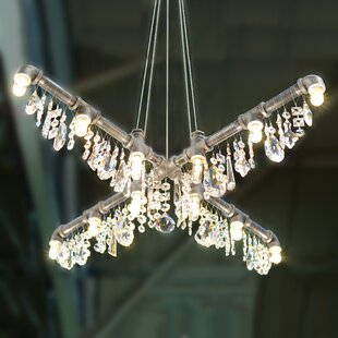 17 Stories Eulalia 12-Light Candle Style Chandelier
