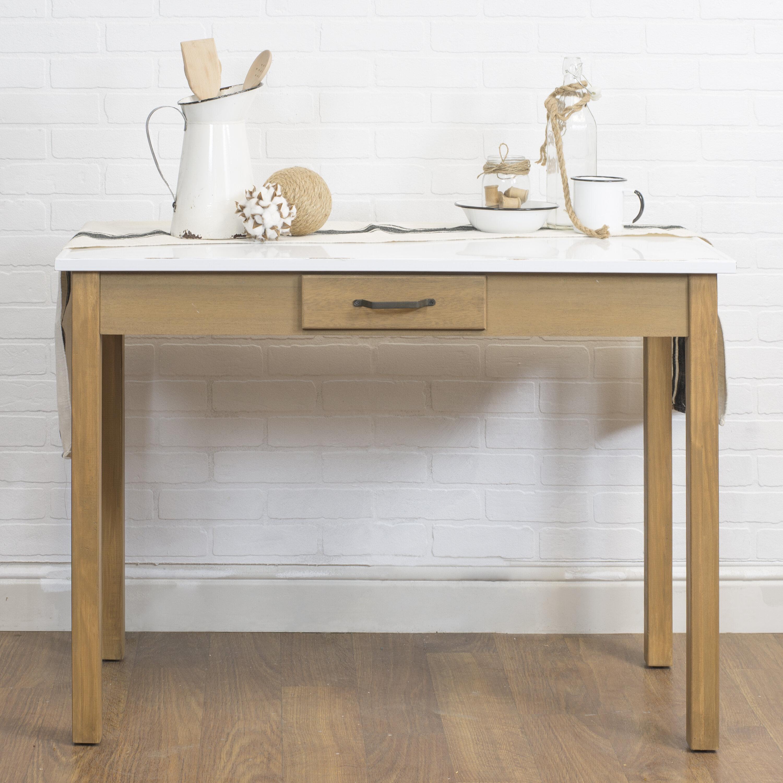 Highland Dunes Hoekstra Modern Farmhouse Desk & Reviews