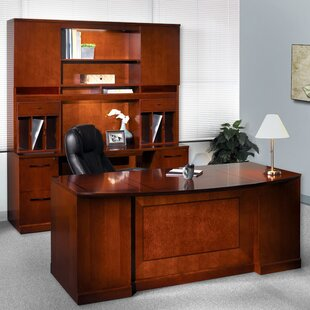 Sorrento Series 5-Piece Standard Desk Office Suite by Mayline Group