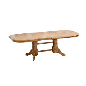 Akron Oak Extendable Dining Table by Augu..