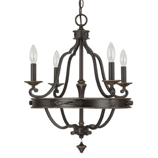Alcott Hill Higham 4-Light Candle Style Chandelier