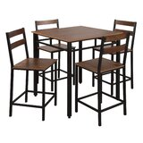 Dement 5 Piece Counter Height Dining Set by Foundry Select