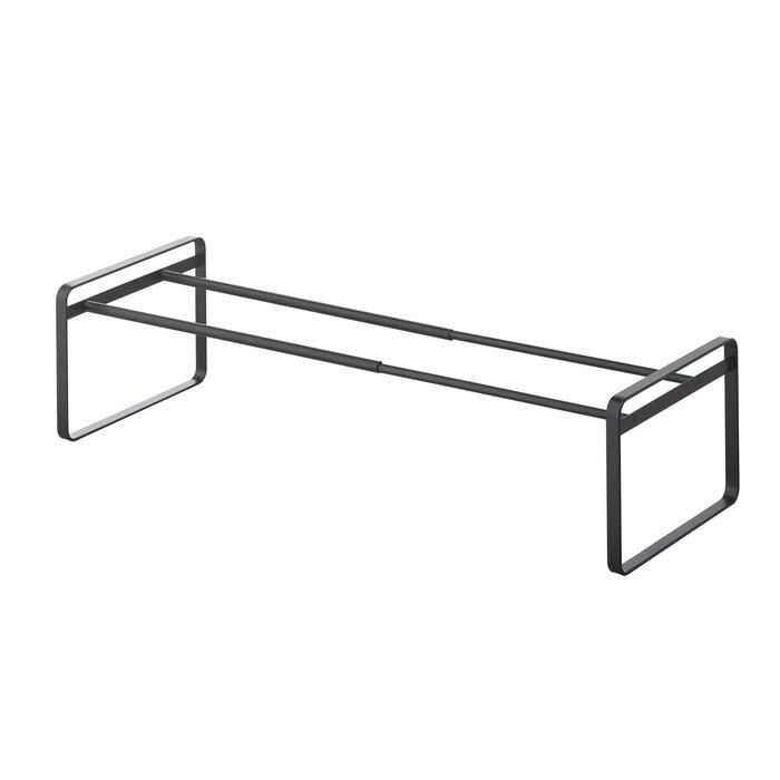 Frame Adjustable 1 Tier Shoe Rack