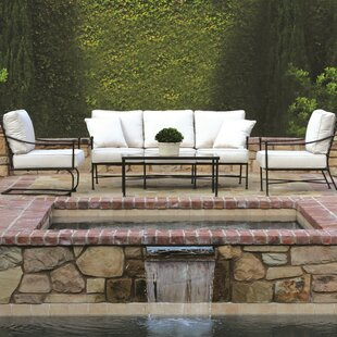 Sunset West Provence Deep Sunbrella Seating Group with Cushions