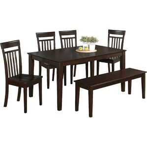6 Piece Dining Set by Charlton Home