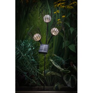 Fontana Solar Crackle Ball 1 Light LED Decorative And Accent Lights Image