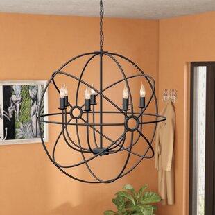 Brayden Studio Geyer 7-Light Globe Chandelier