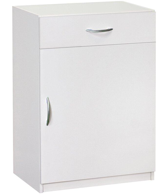 34.72u201d H X 240.2u201d W X 15.24u201d D Flat Panel Single Door And