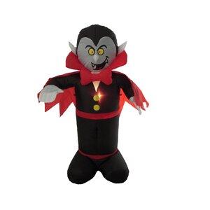 Halloween Inflatable Freestanding Vampire Decoration