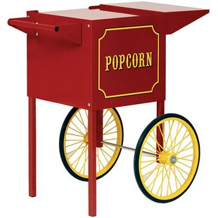 Theater Pop and 1911 Popcorn Machine Cart