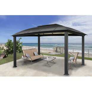 Siena 11 Ft. W x 16 Ft. D Aluminum Patio Gazebo by Paragon-Outdoor