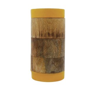 Wood Kitchen Canister