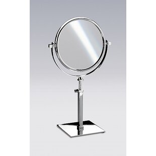 Price comparison Double Face Pedestal Magnifying Mirror ByWindisch by Nameeks