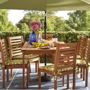 Beachcrest Home Flinn 7 Piece Dining Set