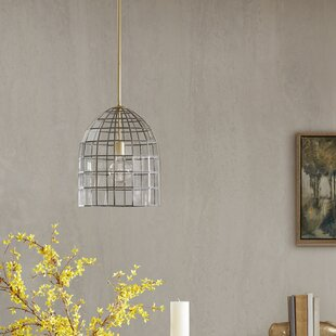 Wrought Studio Deleon 1-Light Bell Pendant