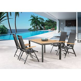 Bushnell 4 Seater Dining Set By Sol 72 Outdoor