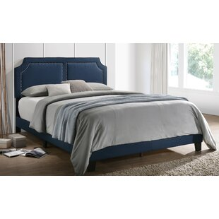 Edgardo Upholstered Panel Bed by Charlton Home
