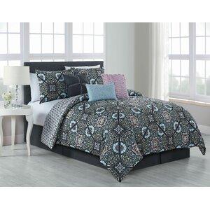Scaife 7 Piece Reversible Comforter Set