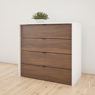 Pickering 4-Drawer Chest by Trule Teen