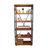Arndt 79 H x 35.4 W Metal Etagere Bookcase by 17 Stories
