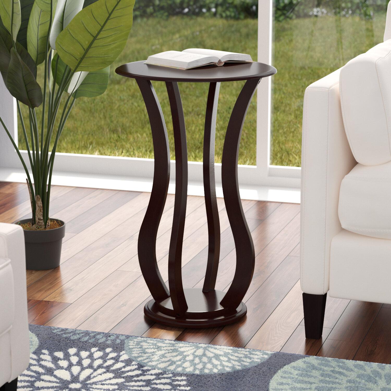 78f8f8e6239c Latitude Run Zahara Pedestal Plant Stand & Reviews   Wayfair