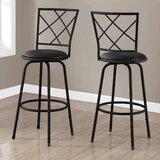 Lavanya 28 Swivel Bar Stool (Set of 2) by Red Barrel Studio®