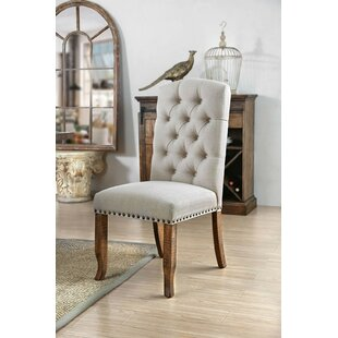 Coshocton Upholstered Dining Chair (Set of 2) Gracie Oaks