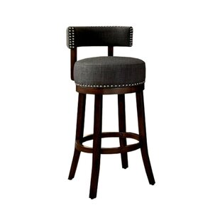 Ame 29 Swivel Bar Stool (Set Of 2) by DarHome Co Looking for