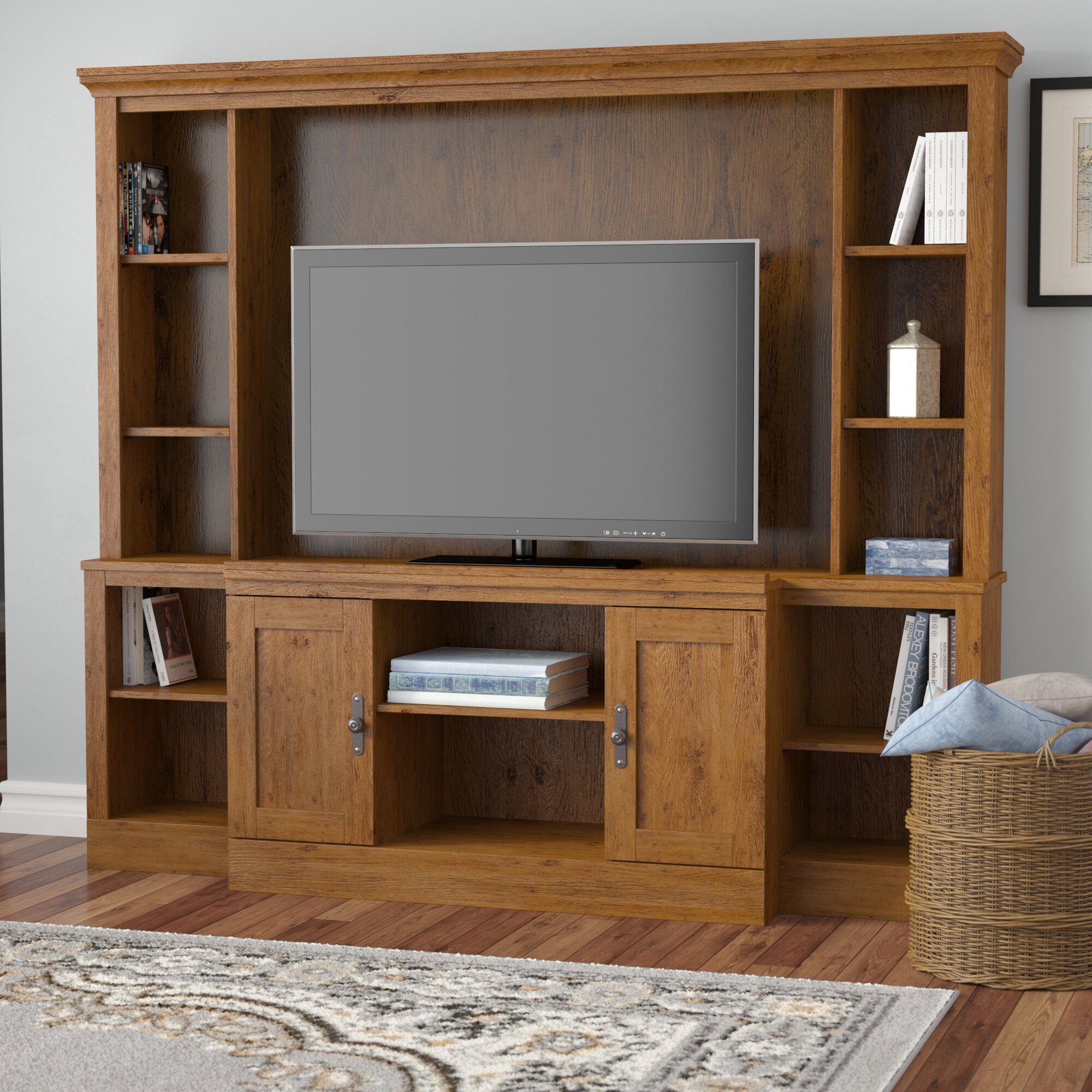 Alcott Hill Englewood Entertainment Center For Tvs Up To 48 Reviews Wayfair
