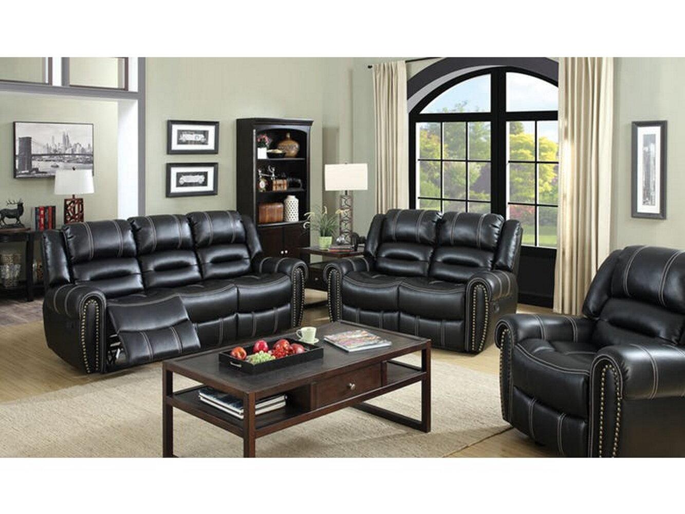 Winston Porter Imane 3 Piece Living Room Set Wayfair