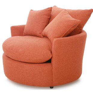 Swivel Barrel Chair by Creative Living