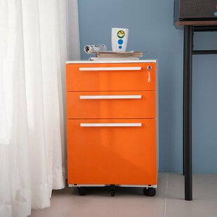 Montagna 3-Drawer Vertical Filing Cabinet