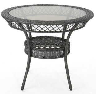 Ivy Bronx Dionysus Wicker Table