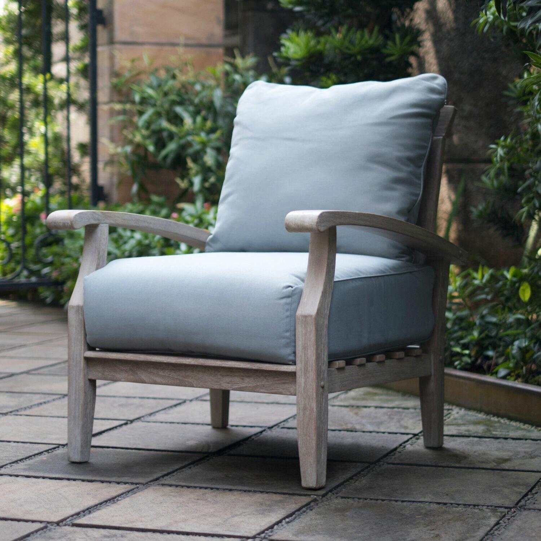 Summerton Teak Patio Chair With Cushions Reviews